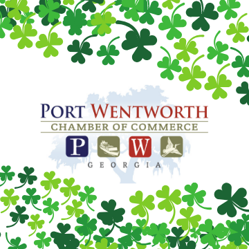 Port Wentworth Georgia Chamber of Commerce ad for transportation to St Patricks Day Parade