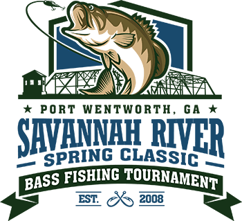 Bass in Savannah River in Port Wentworth, GA