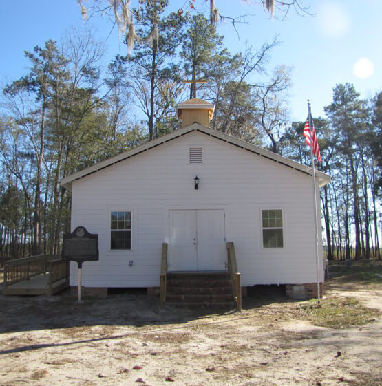 Historic Praise House in Port Wentworth Georgia