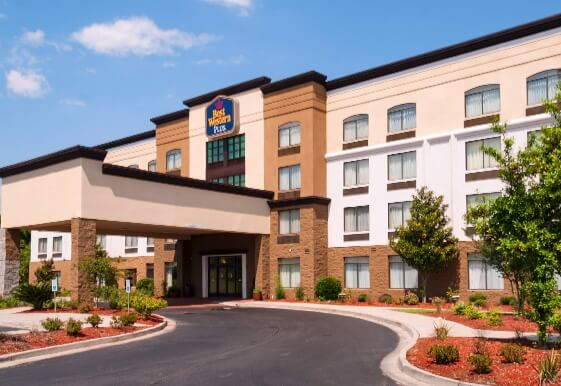 Best Western Plus North Savannah hotel in Port Wentworth Georgia