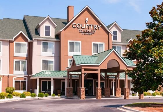 Country Inn and Suites hotel in Port Wentworth Georgia