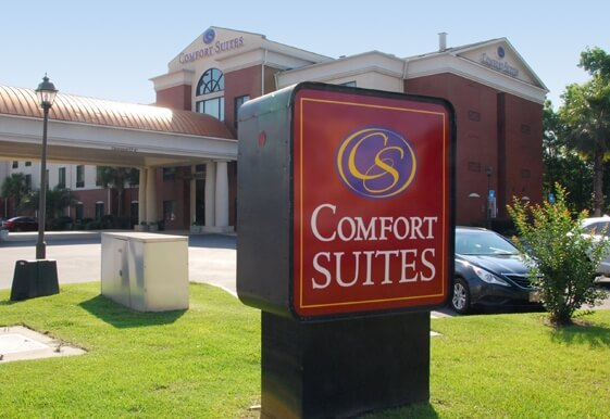 Comfort Suites Savannah North hotel in Port Wentworth Georgia
