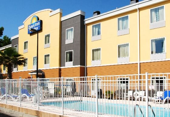 Days Inn and Suites hotel Savannah North I 95 in Port Wentworth Georgia
