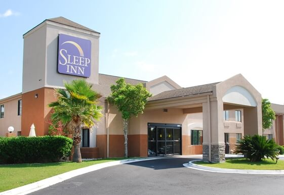 Sleep Inn hotel in Port Wentworth Georgia