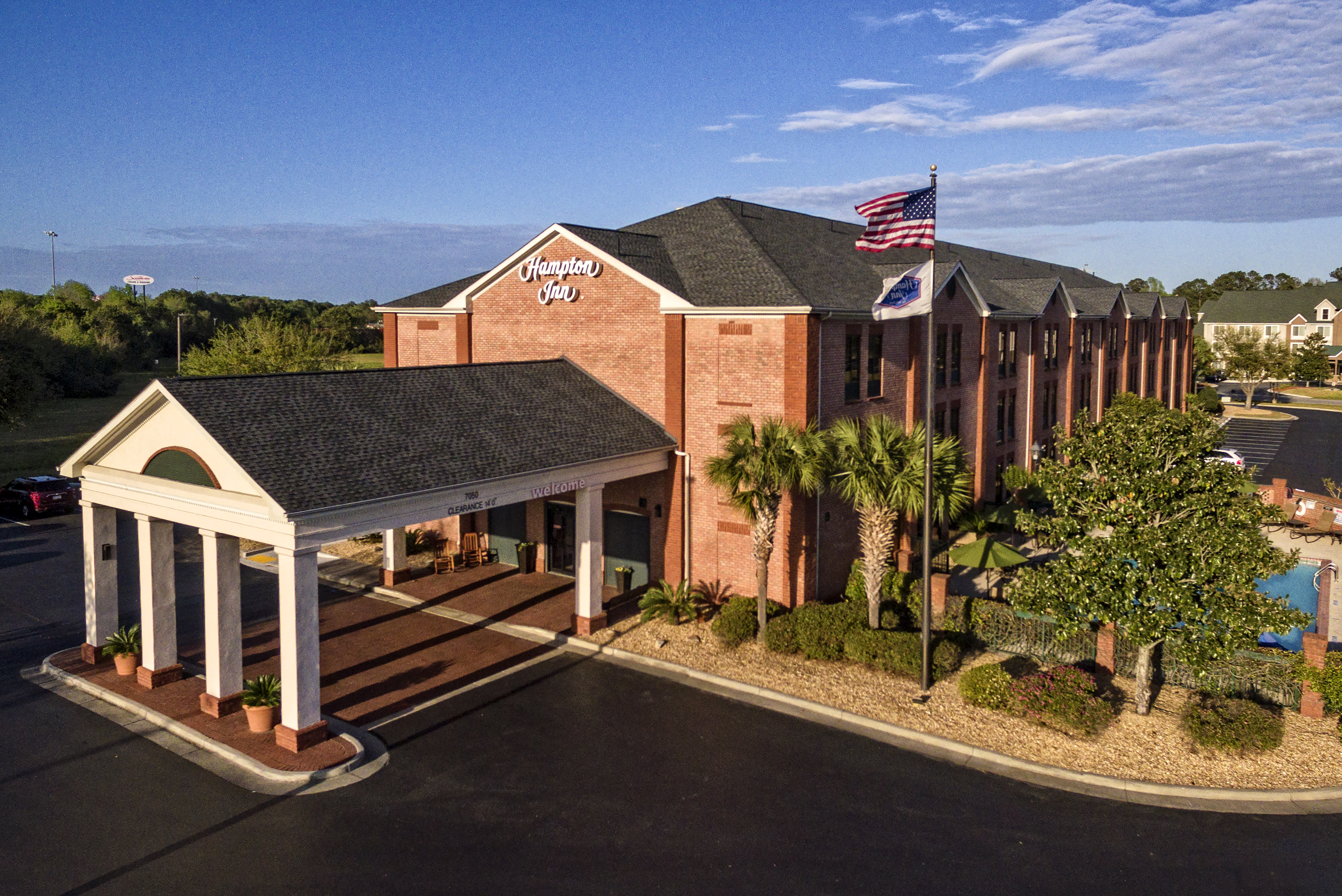 Hampton Inn hotel in Port Wentworth Georgia